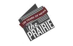 The Prairie 100 Years of News logo