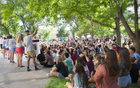 Incoming students learn the basics of being a buff