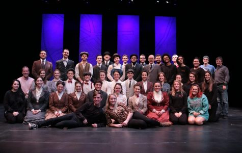 Photo courtesy of the WTAMU Theatre Department The cast of this year's production of Our Town, a small portion of the talent found in WTAMU's Fine Arts Department, featuring two of the students accepted into IPAI.