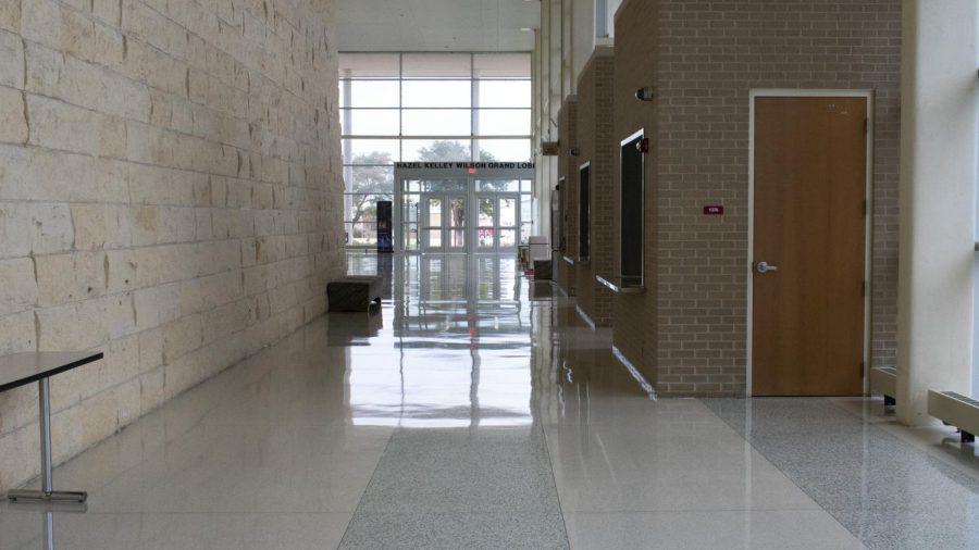 FAC Lobby post polishing.