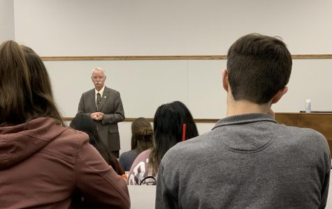 Dr. Kevin Pond holds public Q&A to discuss renovations coming to the Natural Science building