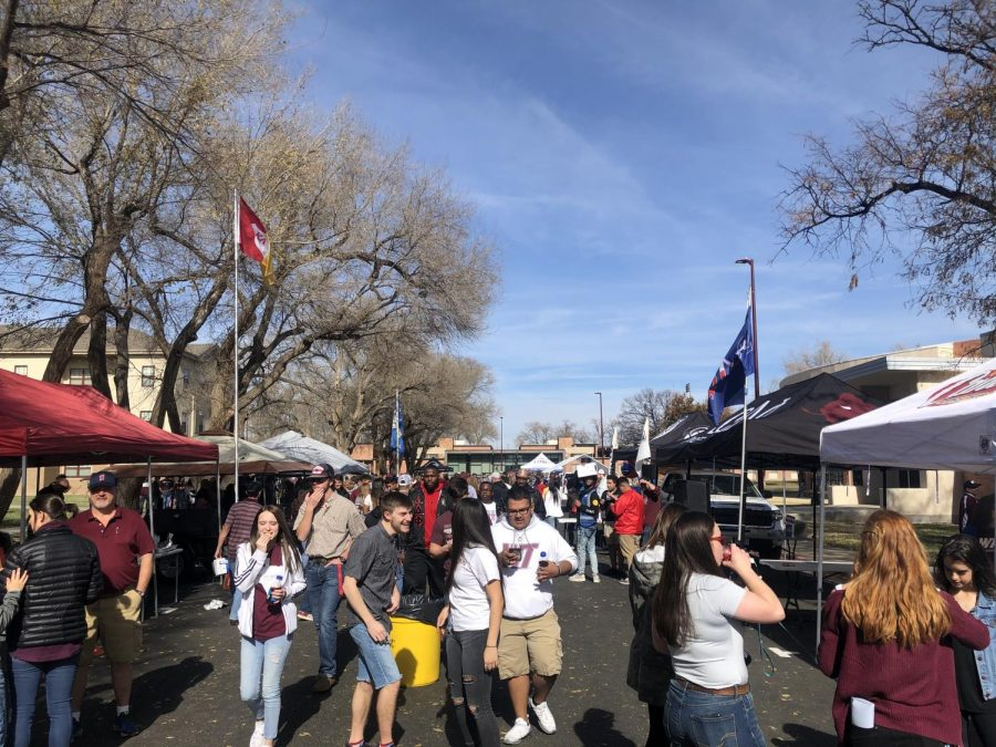 Tailgating on campus gives students a  new opportunity to get involved on campus