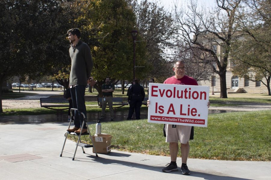 Young christians denounce doctrine of the street preacher