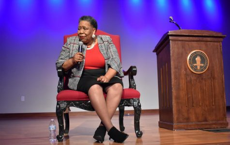 After her talk Joanne Bland held a Q&A portion to answer questions from the audience.
