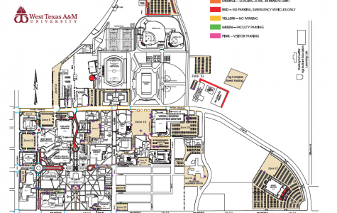There is a limited amount of handicapped parking available on campus.