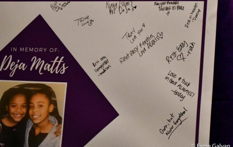 Friends and classmates leave messages for the family of Deja and Abanney Matts.