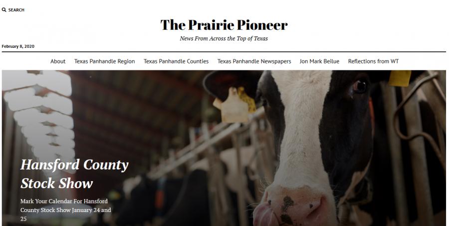 The Prairie Pioneer seeks to spread the panhandle's news