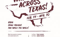 "Students encouraged to  ""Walk Across Texas"""