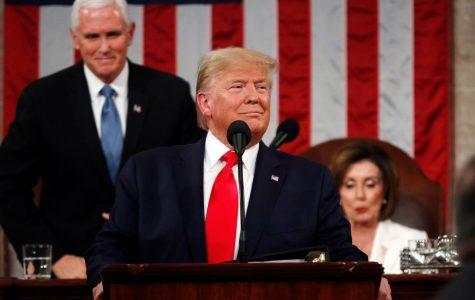 President Donald Trump's State of the Union address preceding Senate impeachment vote