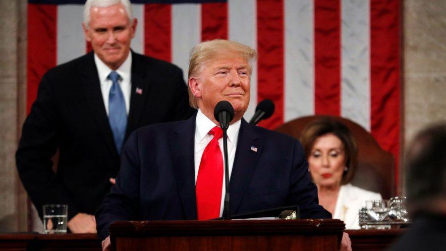 President+Donald+Trump%27s+State+of+the+Union+address+preceding+Senate+impeachment+vote