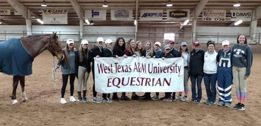 WTAMU Equestrian jumps to regions success