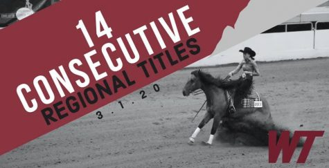 WT equestrian's western team slides into 14th consecutive regional title