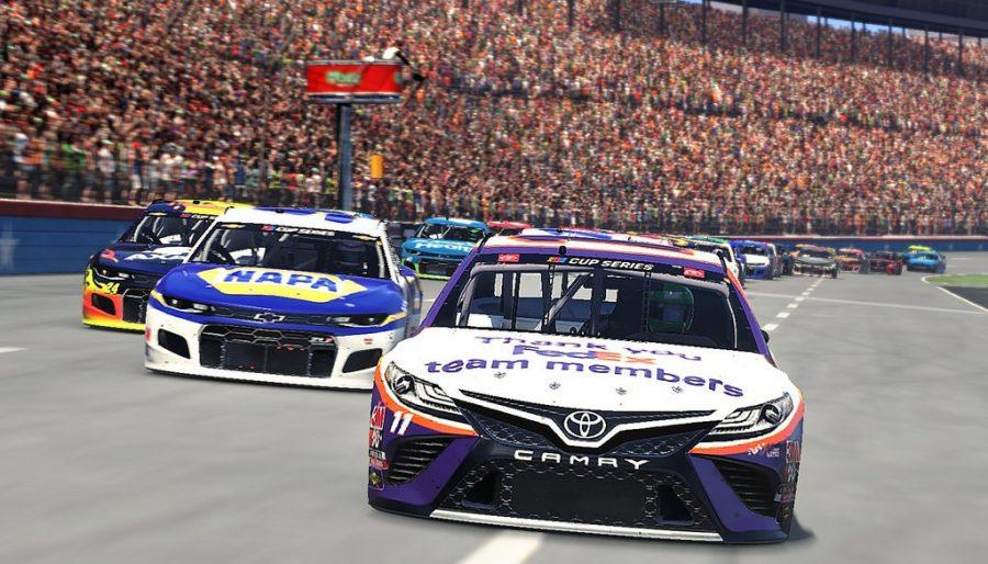 NASCAR makes a pit stop