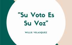 Willie Velasquez is known to be one of the biggest advocates for Latino voters.