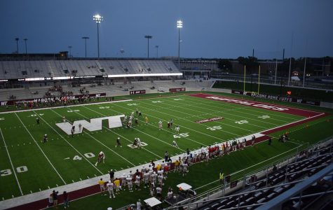 The Maroon and White scrimmage on Sept 12, 2020