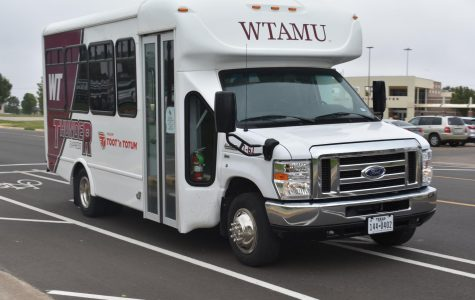 Shuttle Services was almost cut from WTAMU this year due to budget cuts mandated by the state but was taken over by Panhandle Community Services and is here to stay.