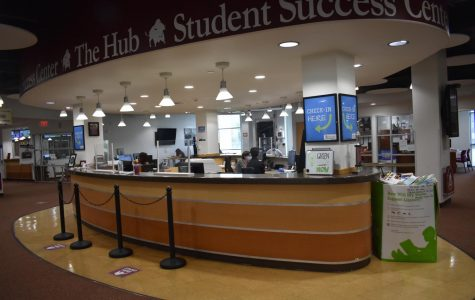 The Hub where incoming freshman can go to get help with class schedule and information.