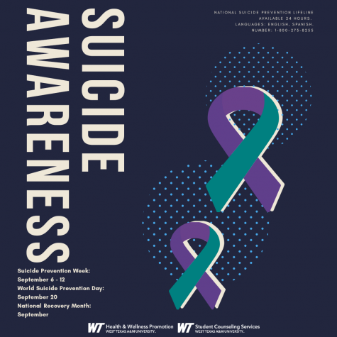 With September here, suicide awareness and mental health is being promoted more. September is National Recovery Month, World Suicide Prevention day is September 20, and Suicide Awareness Week is September 6-12.