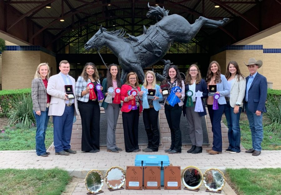 The WTAMU horse judging team beat out 11 other teams that were competing.