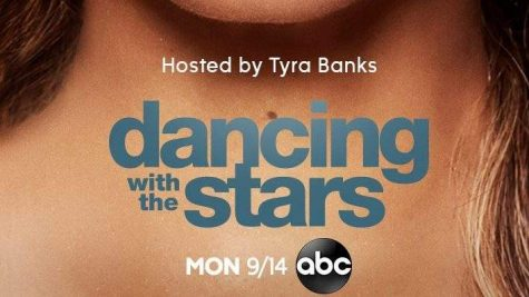 """Dancing with the Stars"" Logo with host, Tyra Banks."
