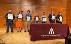 Seven Students Inducted into Lambda Pi Eta, National Communication Honor Society