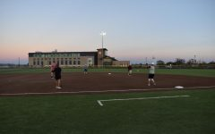The Buffs take the mound for this years annual softball intramural league.