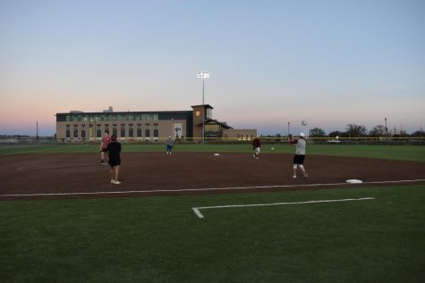 Softball with the Buffs