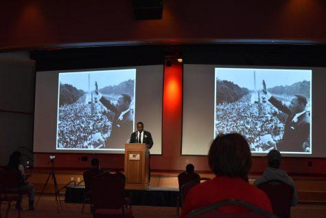 WTAMU hosts MLK speech reenactment