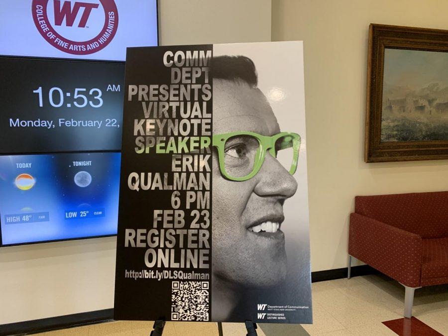 Erik Qualman speaking in a virtual keynote February 23 at 6:00pm
