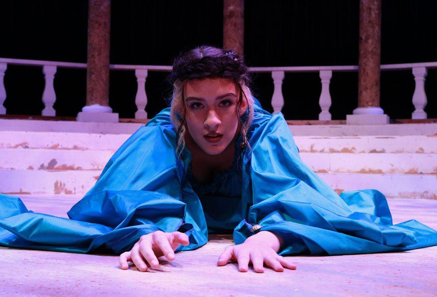 Lauren Landtroop as Phaedra.