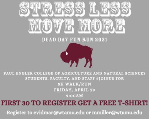 The Fun Run will take place on campus.