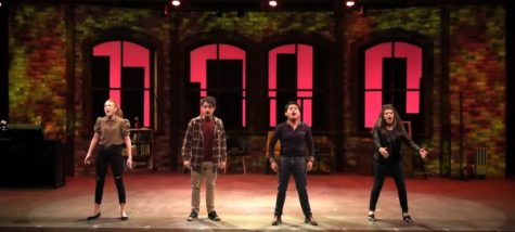 The Medley Cast sing the untitled opening number.