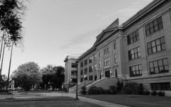 WTAMU Old Main sits at the center of campus.