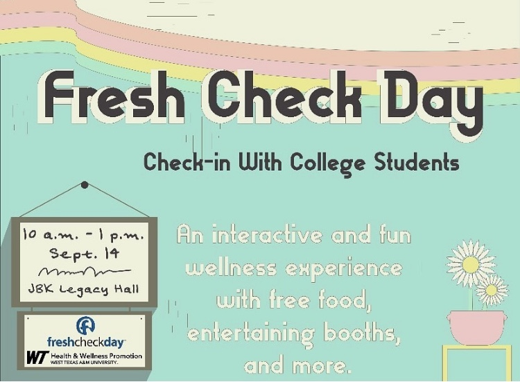 Fresh Check Day for mental health and suicide awareness.