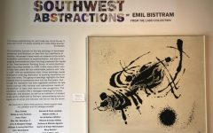 Southwest Abstractions of Emil Bisttram located on the first floor of the PPHM and is available for viewing until March 19, 2022.