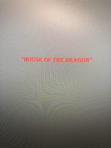 A graphic designed by Victoria Fatiregun using the color themes of House of the Dragon (Victoria Fatiregun/ Tuesday Oct. 26 2021)
